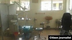 Reporta Cuba. Salón de clínica estomatológica. Foto: Nilo Alejandro.