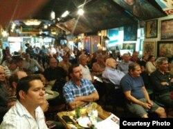 Encuentro de directivos de 14 y Medio con la audiencia de Miami