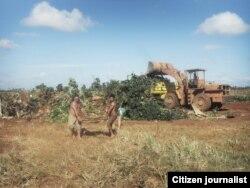 Reporta Cuba Desalojos masivos en La Cachimba Foto Jorge Bello.