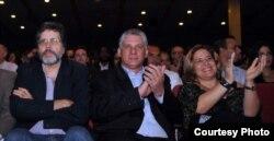 En Cuba la esposa de MIguel Díaz-Canel, Lis Cuesta, suele acompañar a su marido a actividades públicas.