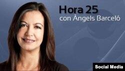 La periodista catalana Àngels Barceló.