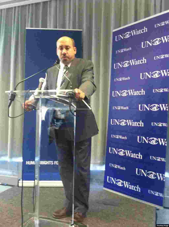 Ali al-Ahmed, académico y analista político, de Arabia Saudí.