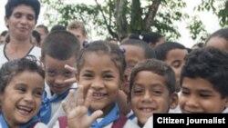 Reporta Cuba. Niños.