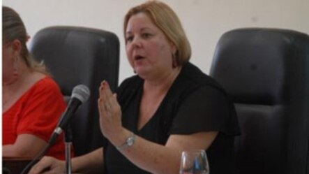 Ministra de Comercio Interior, Mary Blanca Ortega Barredo