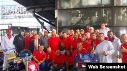 Equipo cubano de béisbol que compitió en 2015 en el Torneo de Puertos de Rotterdam.