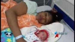 Nace primer bebé de migrante cubana en Turbo
