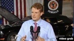 El representante por Massachussets Joe Kennedy responde por el Partido Demócrata al discurso sobre el Estado de la Unión del presidente Trump.