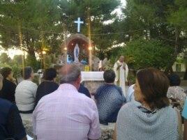 Mons.Bruno Musaró. Nuncio Apostólico en Cuba Misa Parque