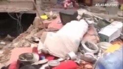 Los servicios de rescate trabajan sin descanso para recuperar cadáveres