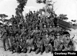 Tropas cubanas en Cuito Cuanavale, Angola.