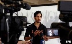 El bailarín y director artístico de la Gala de Ballet Royalty, el cubano Rodrigo Almarales