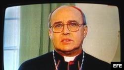 La principal cadena de televisión de Cuba trasmite el mensaje del Cardenal