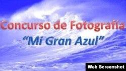 Concurso de fotografía Mi Gran Azul