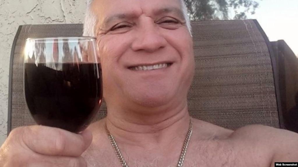 Exoficial de policía cubano, Julio Orta Mateo, identificado como residente en Gainsville, Florida, EEUU.