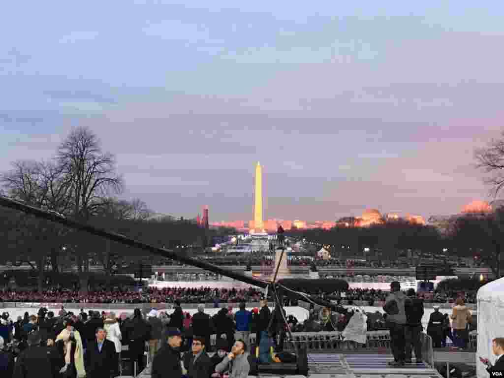 Washington DC en la mañana del 20 de Enero 2017