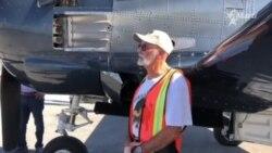 Entevista a Juan Perón, piloto del T-28C
