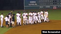 Cuba vs EEUU, a partir del 2 de julio.