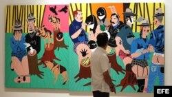 """Exposición """"Ruido Salvaje"""" primer intercambio entre pinacotecas de EE.UU. y Cuba"""