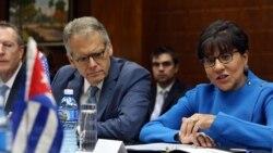 Prematura e inoportuna la visita de la secretaria de Comercio de EEUU a Cuba