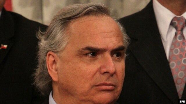 El nuevo ministro del interior Andres Chadwick.