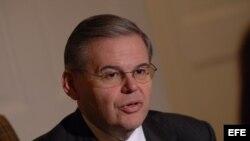 El senador demócrata de Nueva Jersey Robert Menendez.