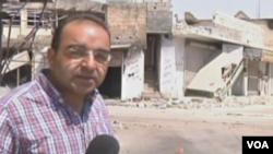 El corresponsal, Bashar Fahmi, fue secuestrado por las fuerzas sirias.