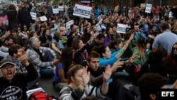 Aumentan protestas en España ante recortes económicos