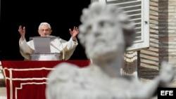 El Papa en el Vaticano.