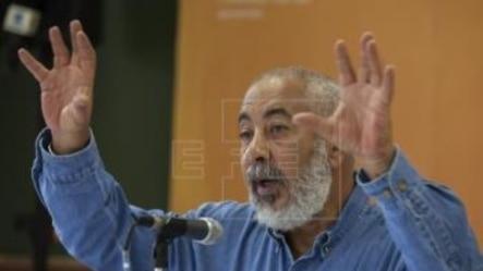 El escritor y novelista cubano, Leonardo Padura .