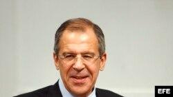 El ministro ruso de Asuntos Exteriores Sergei Lavrov.