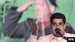 Nicolás Maduro, en acto de juramentación de gobernador chavista en diciembre de 2012