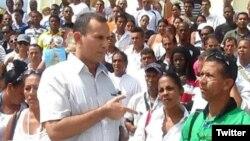 José Daniel Ferrer García, dirigente de la UNPCU, aborda el incremento de la represión contra opositores y periodistas independientes a solo dos meses de haber sido puesto al frente del gobierno, Miguel Díaz-Canel