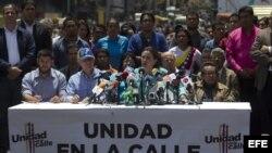 María Corina Machado reclama una posición firme contra Gobierno de Maduro