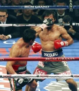Márquez noqueó a Pacquiao.
