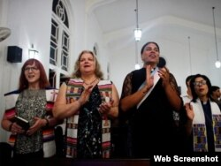 Misa transgénero en Matanzas. (Foto: Arnoldo Varona/ TheCubanHistory.com)