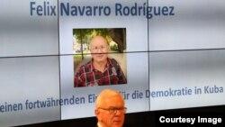 Pemio a Félix Navarro de la Fundación Adenauer.