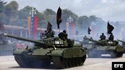 La Fuerza Armada Nacional Bolivariana (FANB).