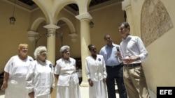 El secretario general de la consejería de Presidencia de la Junta de Castilla y León, José Manuel Herrero visitó Cuba en mayo de 2013.