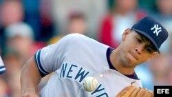 Alex Rodríguez, de los Yankees de Nueva York.