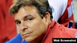 Antonio Castro Soto del Valle, vicepresidente de la Federación Cubana de Béisbol (FCB).