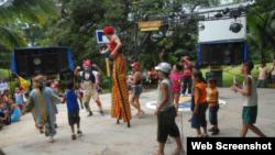 Asi muestra la pagina Juventud Rebelde el campismo La Hormiga en Fomento