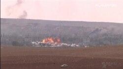 Los kurdos recuperan terreno en Kobani