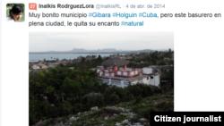 Reporta Cuba. Medio Ambiente. Foto: Inalkis Rodríguez.