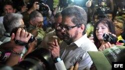 """Luciano Marín Arango, alias """"Iván Márquez"""", número dos de las FARC."""