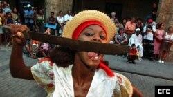 """Danzas afrocaribeñas en el festival """"Ciudad en Movimiento"""""""