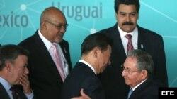 Cumbre de los mandatarios de CELAC con el presidente de China.