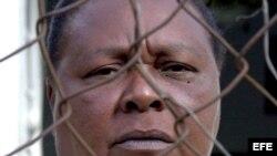 Ramona Copello Castillo, madre de Enrique Copello, ejecutado en Cuba por intentar desviar una lancha hacia Florida (2003).