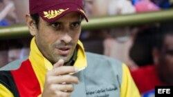 El líder opositor venezolano, Henrique Capriles. EFE