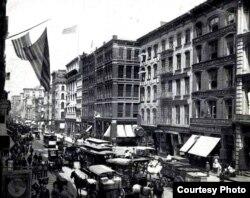Nueva York en el siglo XIX.
