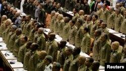 Miembros de las Fuerzas Armadas Revolucionarias. (FAR).